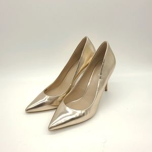 Aldo Faux Leather Pointy High Heels Pumps
